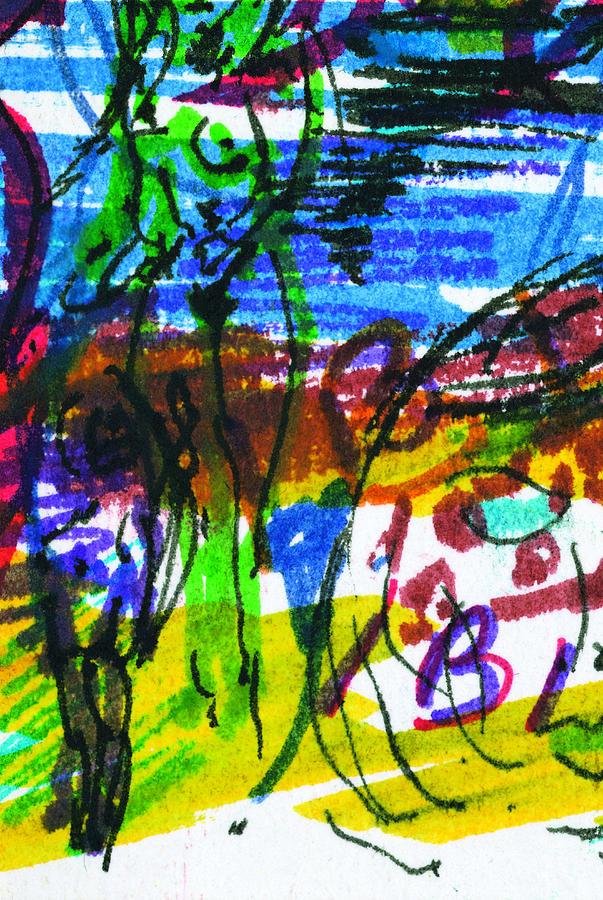 Ibiza Painting - Ibiza 7 by Anthony Fox