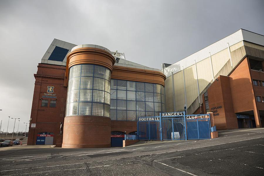Ibrox Stadium, Glasgow Photograph by Theasis