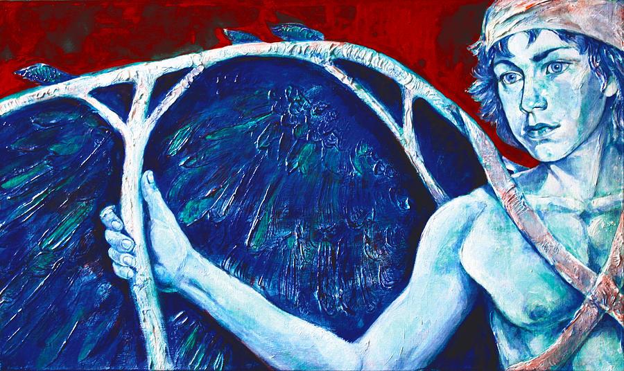 Greek Mythology Painting - Icarus by Derrick Higgins