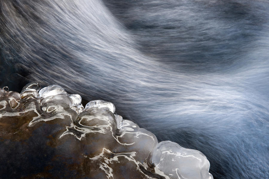 Water Photograph - Ice & Water by Vito Miribung