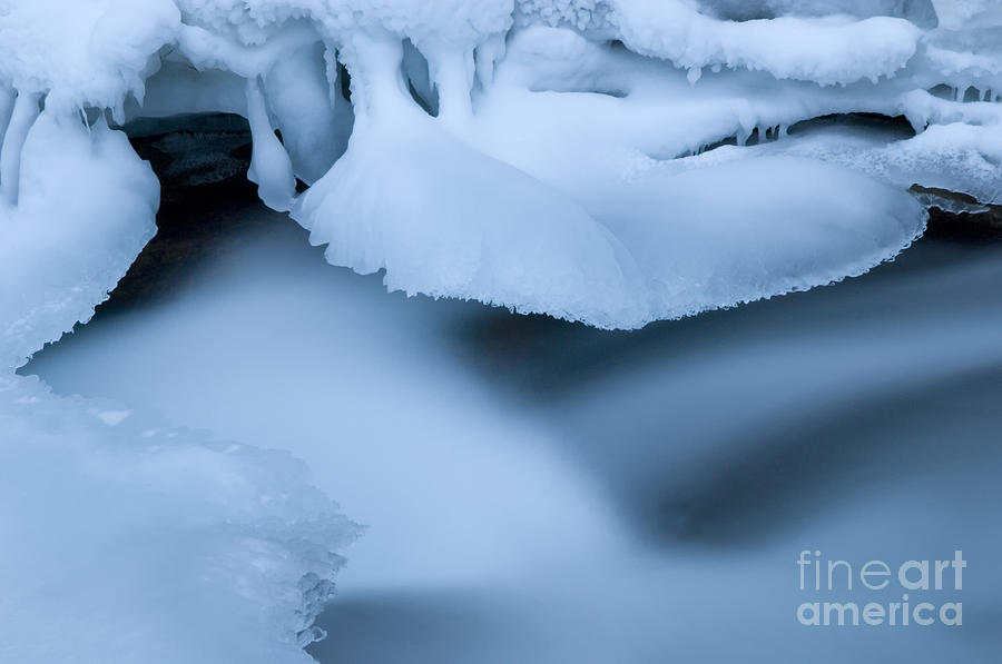 Ice Photograph - Ice 19 by Bob Christopher
