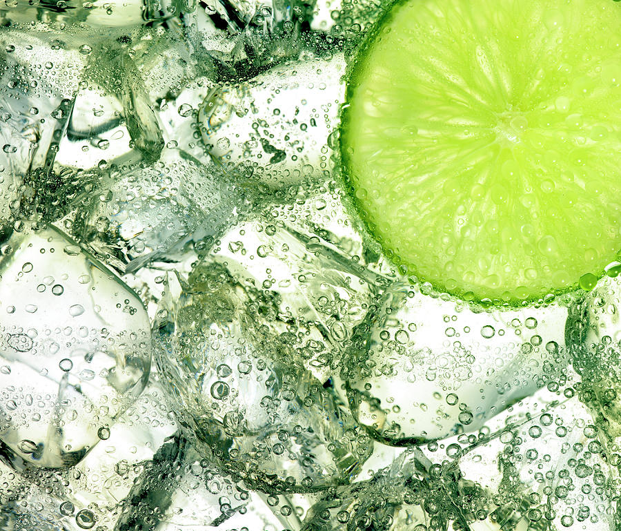 Ice And Lime Photograph by Anthony Bradshaw