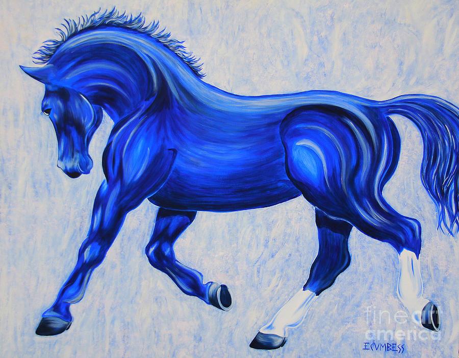 Ice Blue by E Cumbess