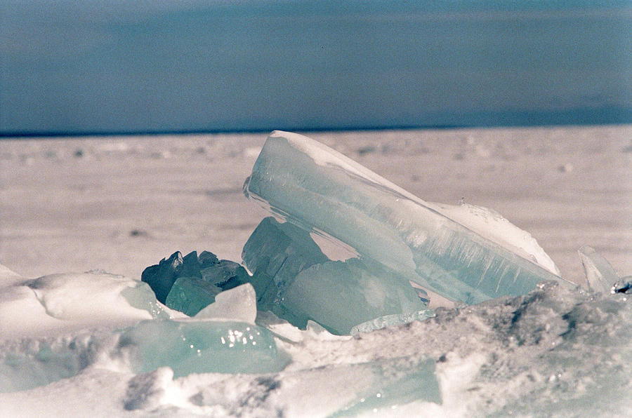 Ice Photograph - Ice by Brady D Hebert