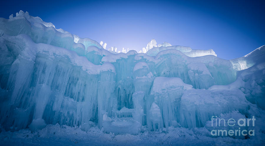 Ice Castle Photograph - Ice Castle by Edward Fielding