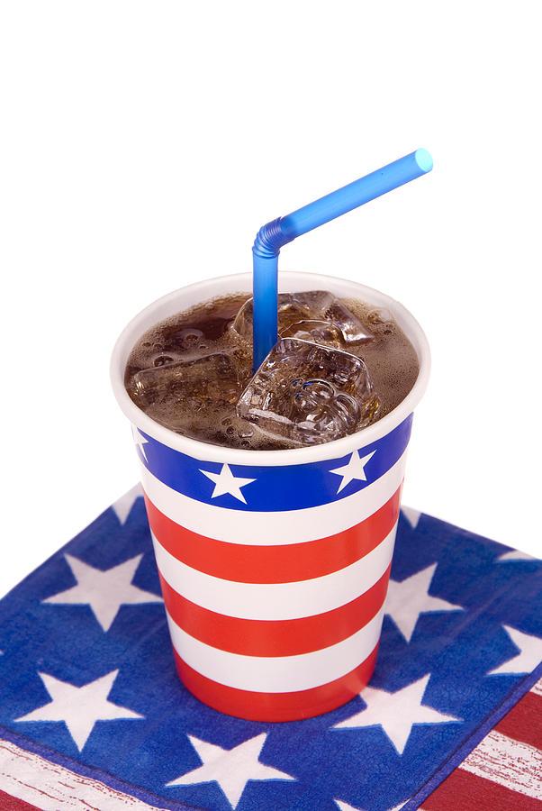 Soda Photograph - Ice Cold July Fourth Soda  by Joe Belanger