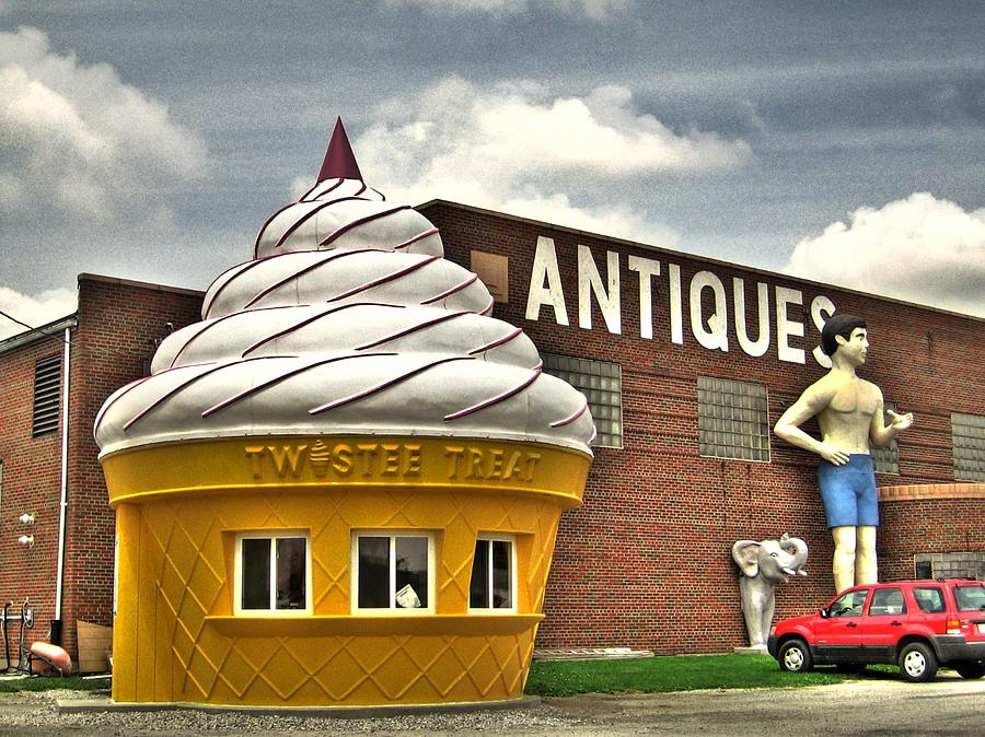 Ice Cream Photograph - Ice Cream by Jane Linders