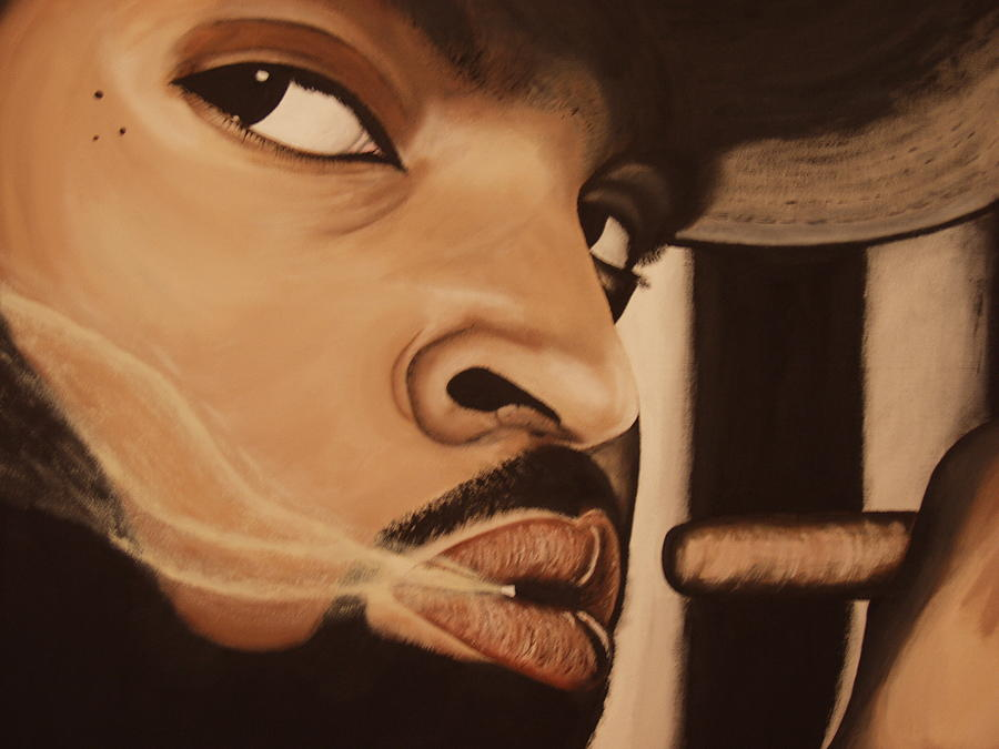 Ice Cube Painting - Ice Cube by Dean Stephens