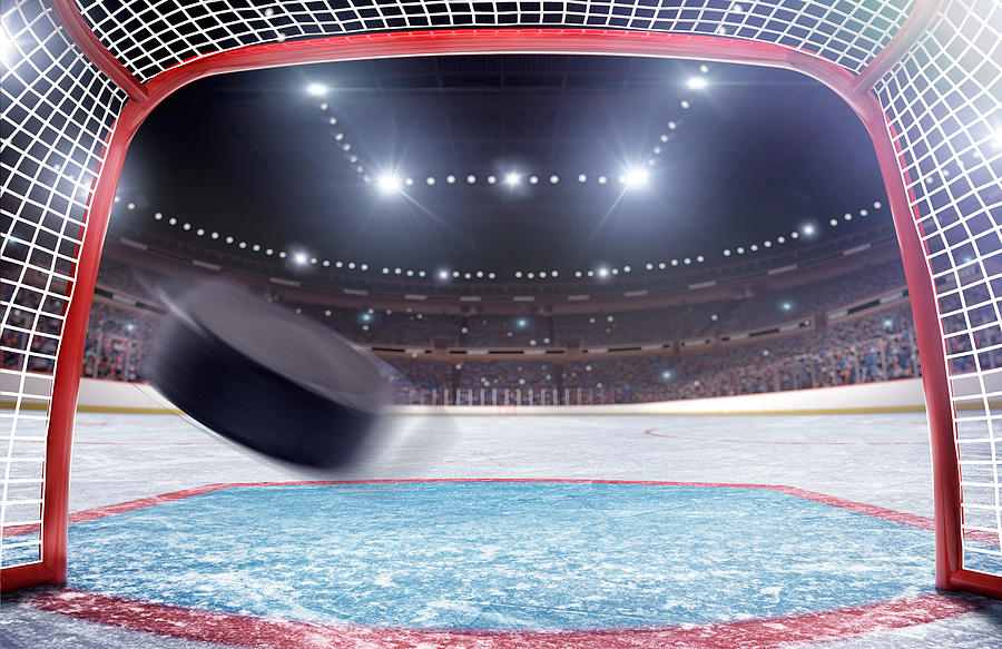 Ice Hockey Goal Photograph by Dmytro Aksonov