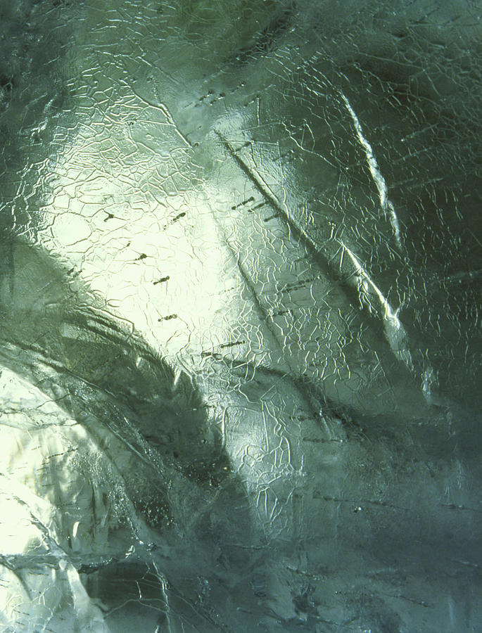 Architecture Photograph - Ice Hotel Wall by Dan Tobin Smith/science Photo Library
