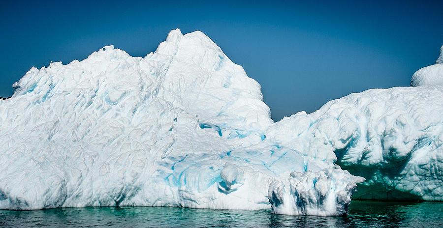 Iceberg Photograph - Ice Iv by David Pinsent