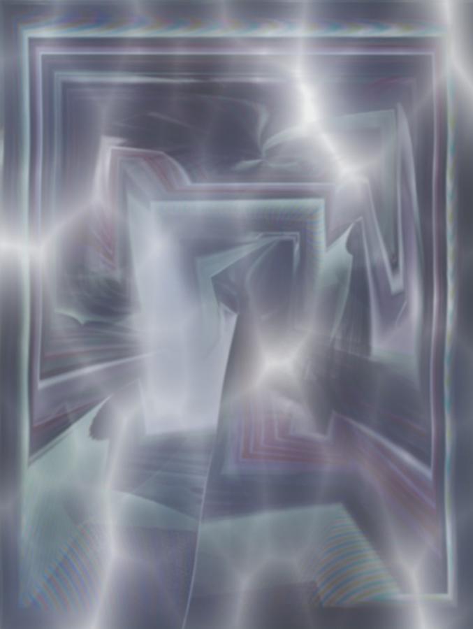 Blicke Tapestry - Textile - Ice by Klaas Hartz