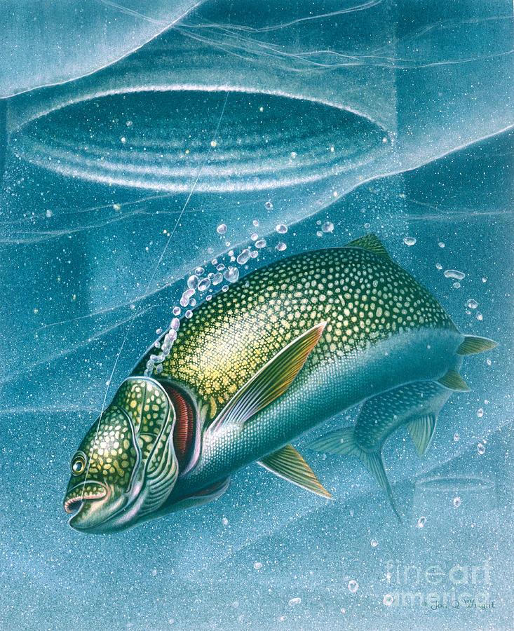 Jon Q Wright Painting - Ice Laker by Jon Q Wright