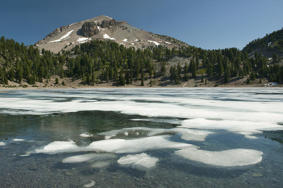 Ice Melting On Lake Helen Photograph by Kevin Schafer