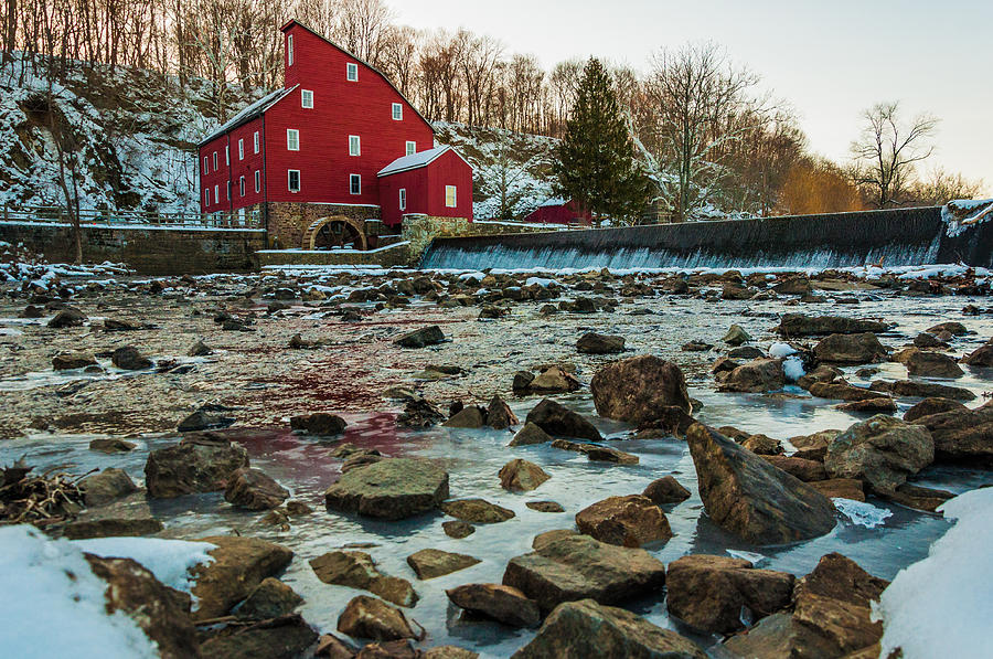 Ice Mill Photograph by Kristopher Schoenleber