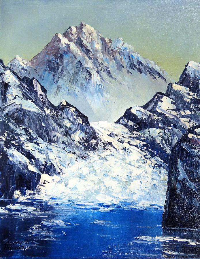Ice Mixed Media - Ice On The Rocks by Kenny Henson