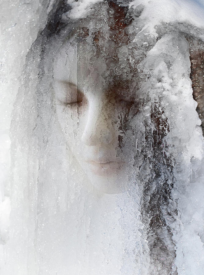 Ice Photograph - Ice Queen by Jeffrey Hummel