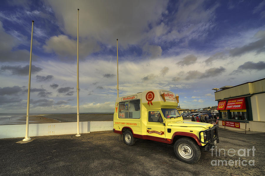 Hockings Photograph - Ice Rover  by Rob Hawkins
