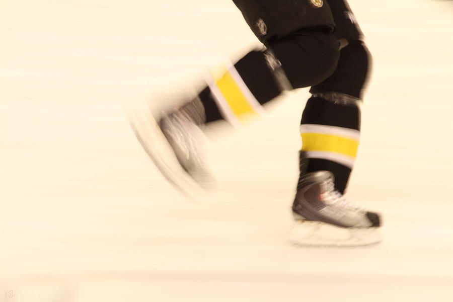 Hockey Photograph - Ice Speed by Karol Livote