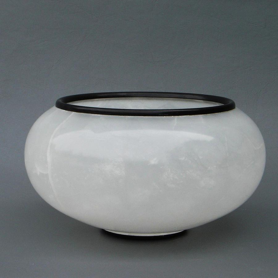Vase Sculpture - Ice Vase by Leslie Dycke