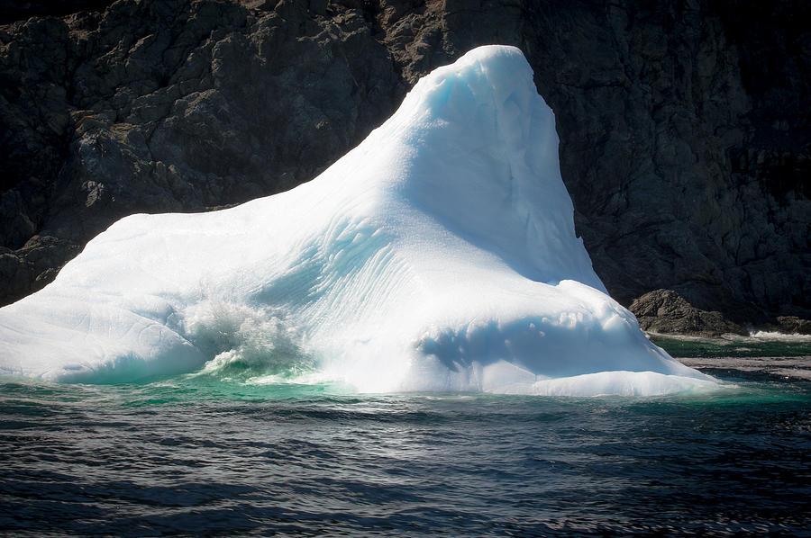 Iceberg Photograph - Ice Vi by David Pinsent