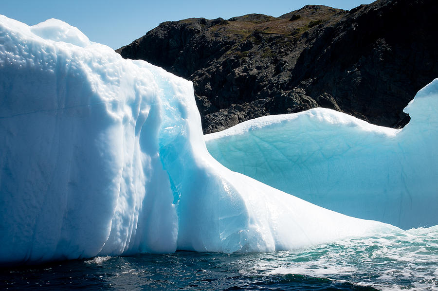 Iceberg Photograph - Ice Vii by David Pinsent