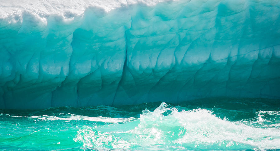Iceberg Photograph - Ice Viii by David Pinsent