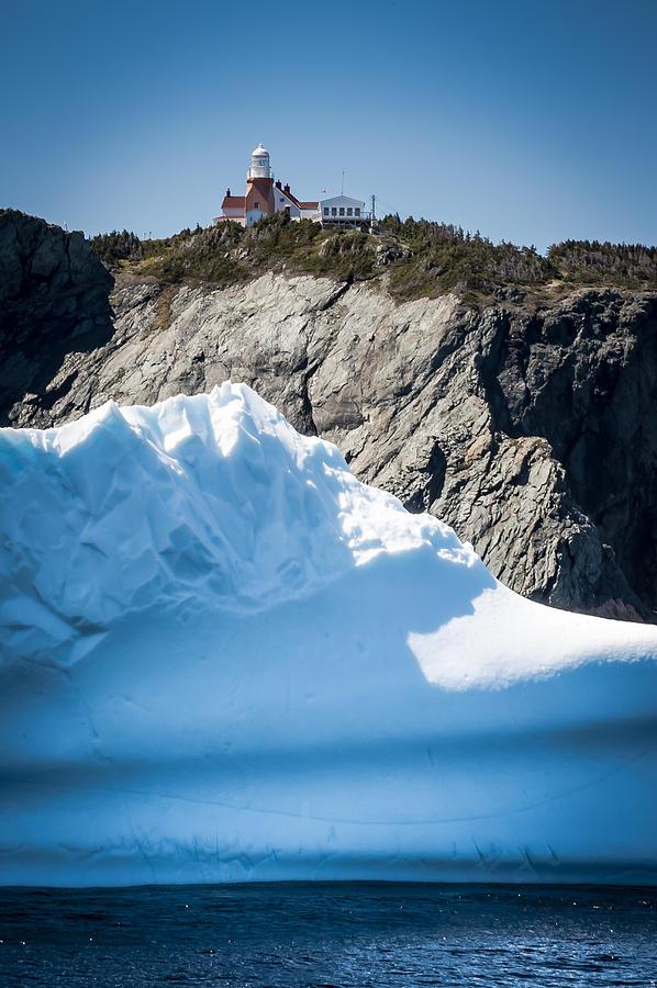 Iceberg Photograph - Ice X by David Pinsent