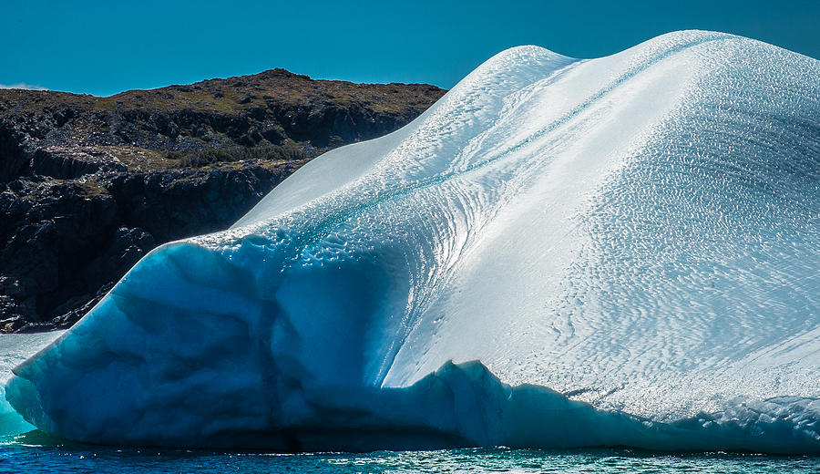 Iceberg Photograph - Ice Xi by David Pinsent