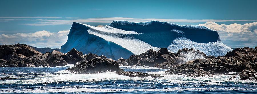 Iceberg Photograph - Ice Xix by David Pinsent