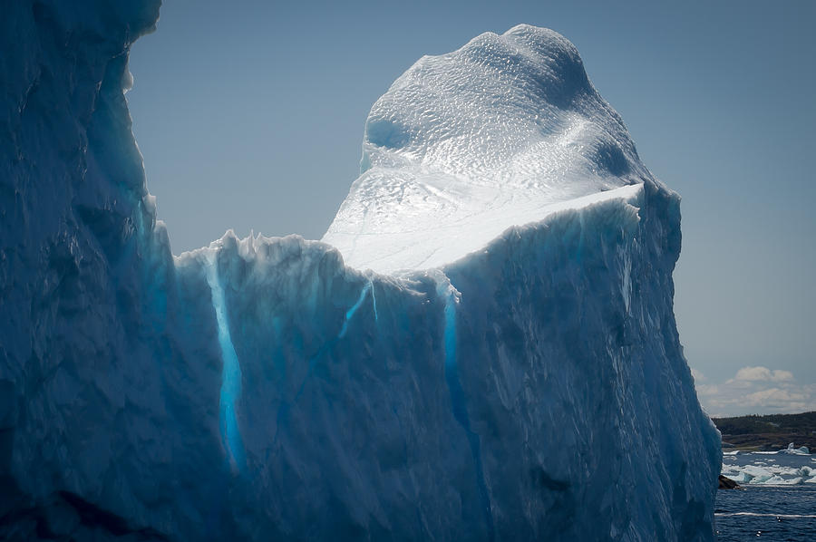 Iceberg Photograph - Ice Xvi by David Pinsent