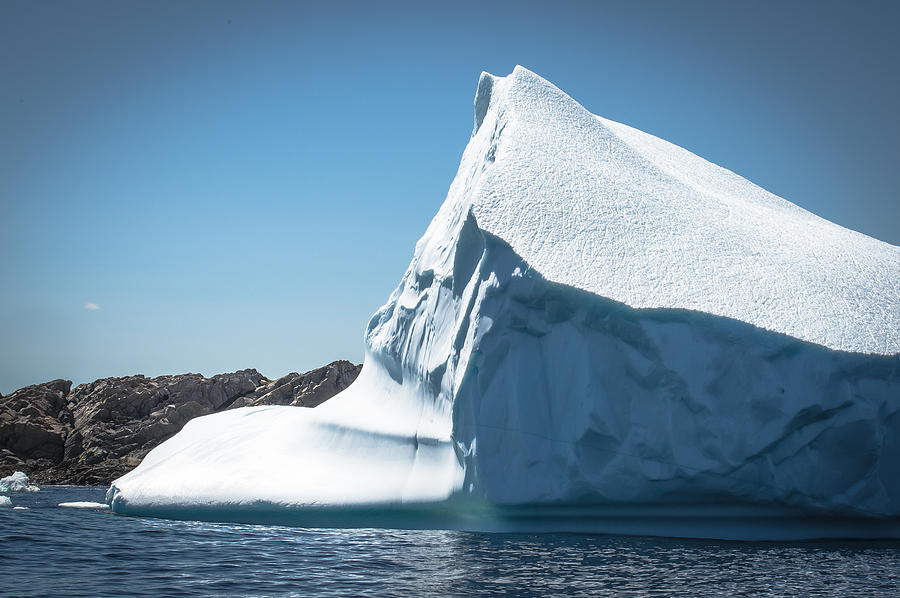 Iceberg Photograph - Ice Xviii by David Pinsent