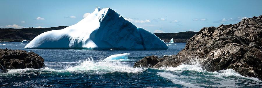 Iceberg Photograph - Ice Xxi by David Pinsent