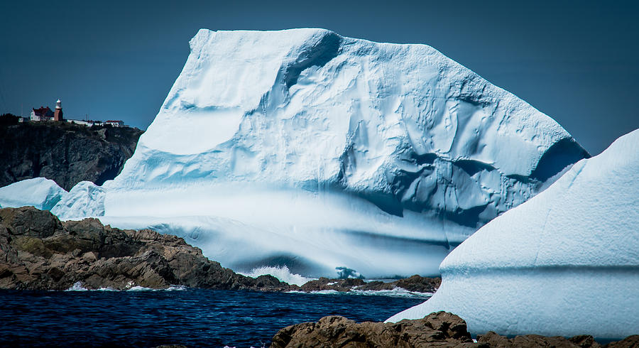 Iceberg Photograph - Ice Xxii by David Pinsent