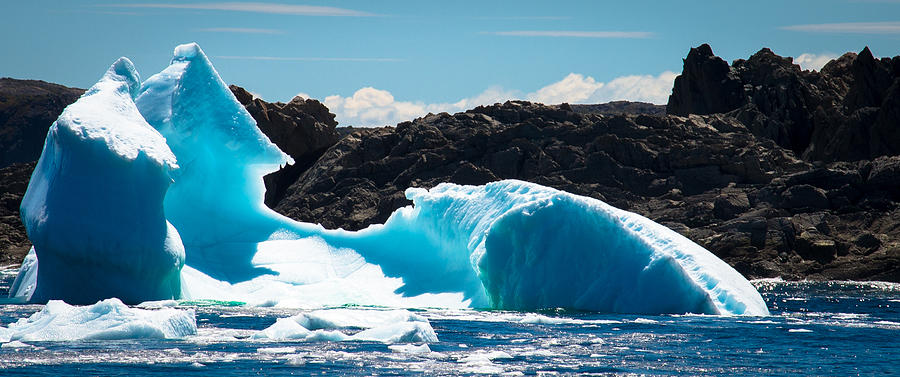 Iceberg Photograph - Ice Xxiii by David Pinsent