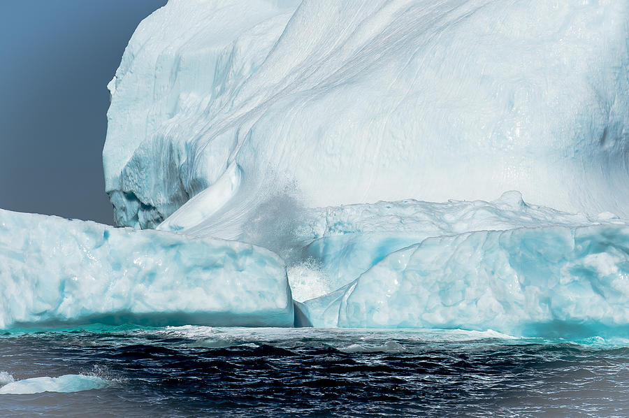 Iceberg Photograph - Ice Xxiv by David Pinsent
