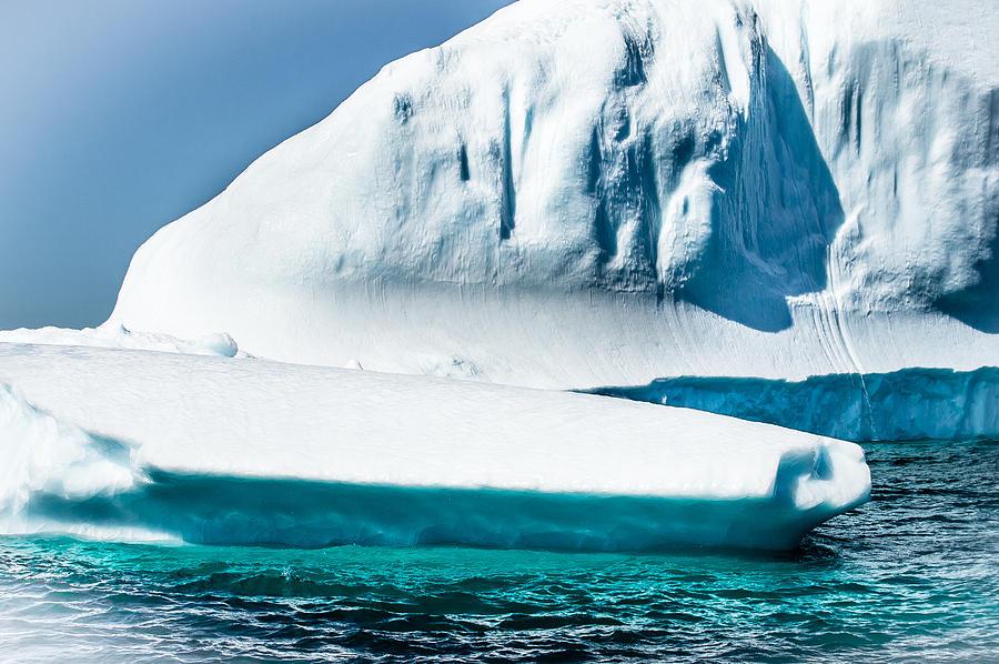 Iceberg Photograph - Ice Xxv by David Pinsent