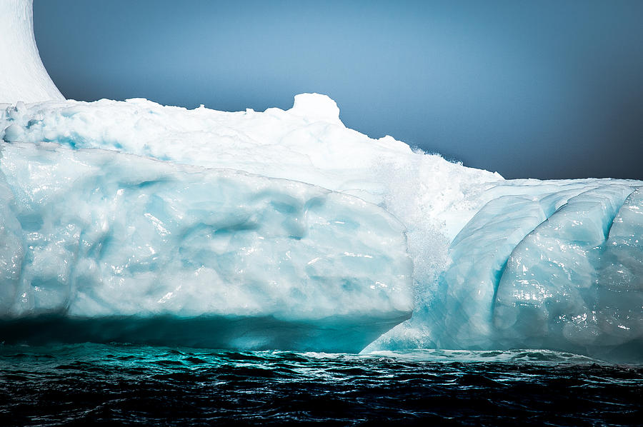 Iceberg Photograph - Ice Xxvii by David Pinsent