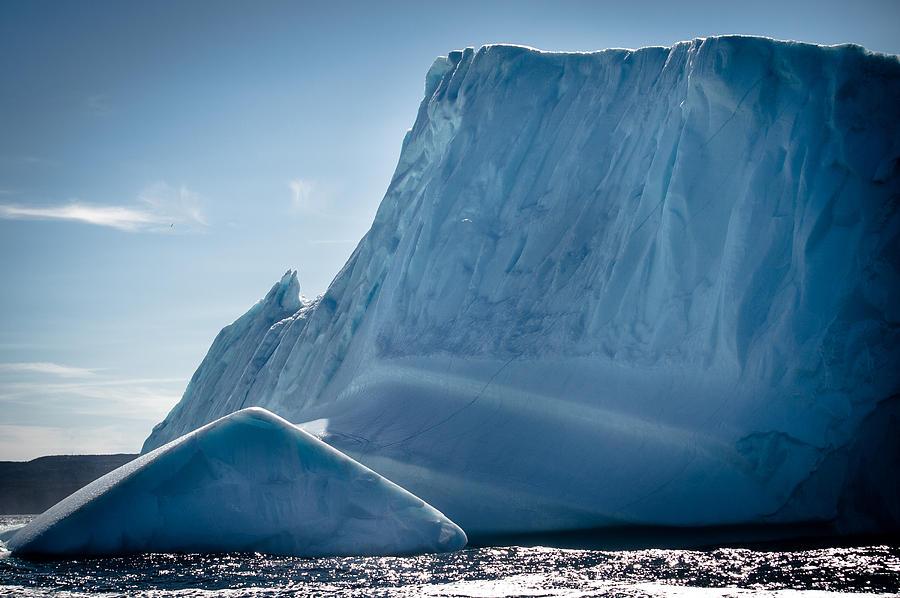 Iceberg Photograph - Ice Xxviii by David Pinsent
