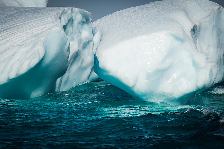 Iceberg Photograph - Ice Xxxi by David Pinsent