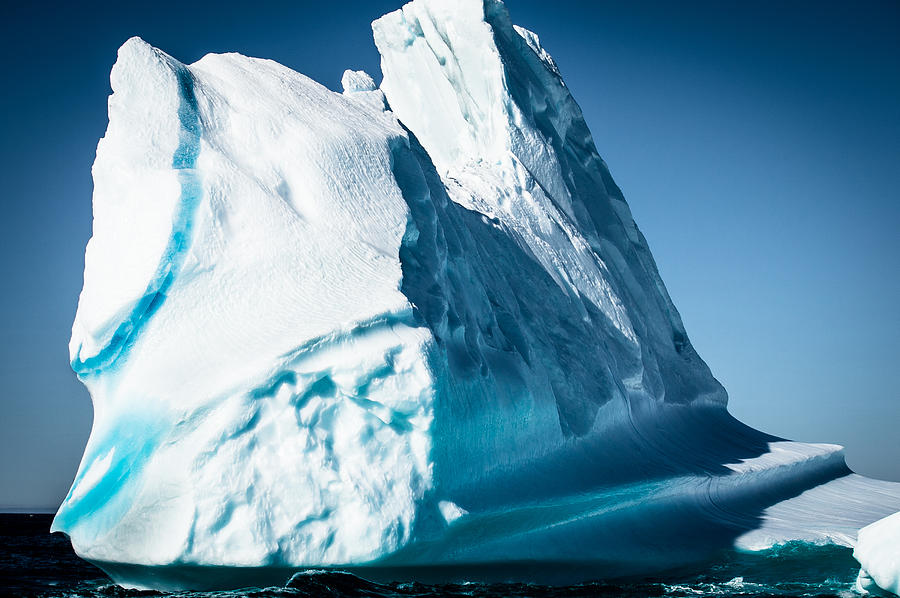 Iceberg Photograph - Ice Xxxii by David Pinsent