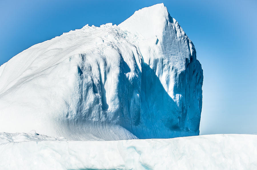Iceberg Photograph - Ice Xxxiii by David Pinsent