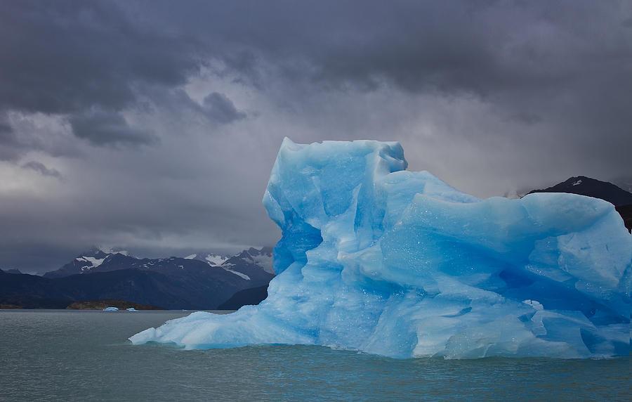 Iceberg Photograph - Iceberg Ahead by Kim Andelkovic