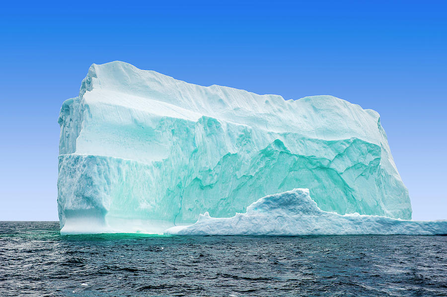 Iceberg Off The Newfoundland Coast Photograph by Aluma Images