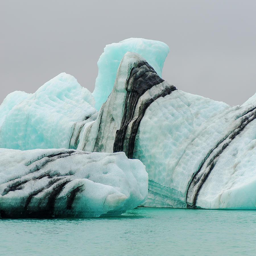 Icebergs Photograph by Enrique Mesa Photography