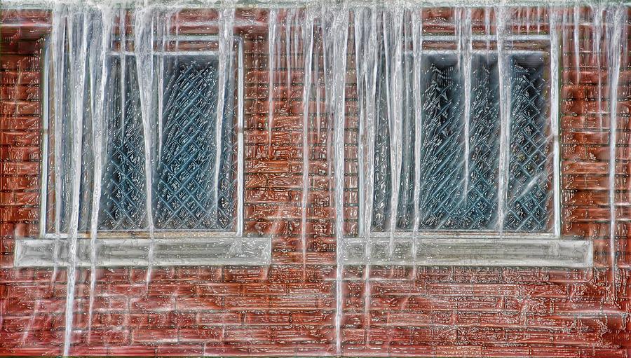 Ice Photograph - Iced Over by Steve Ohlsen