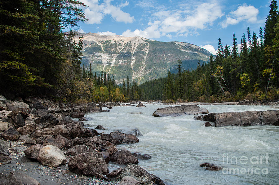 Icefields Parkway Photograph - Icefields Parkway 2.0640 by Stephen Parker