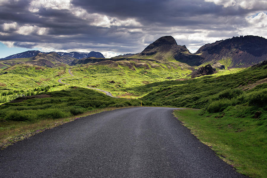 Iceland Roads Photograph by Dennis Fischer Photography