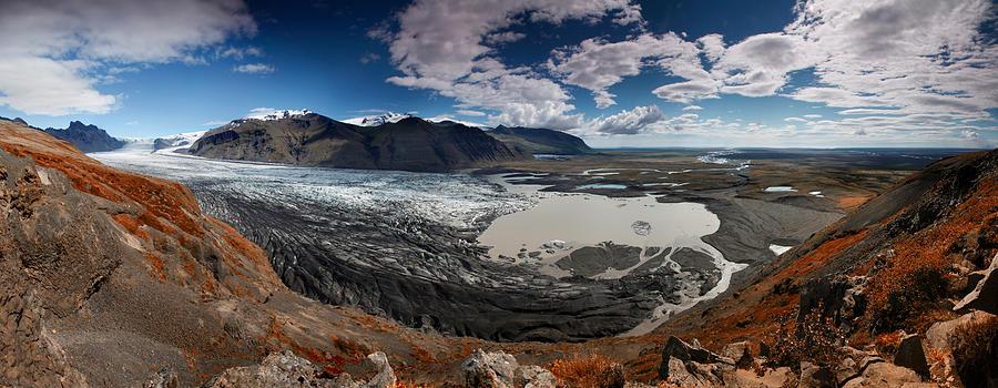 Iceland Photograph - Iceland Skaftafell by Nina Papiorek