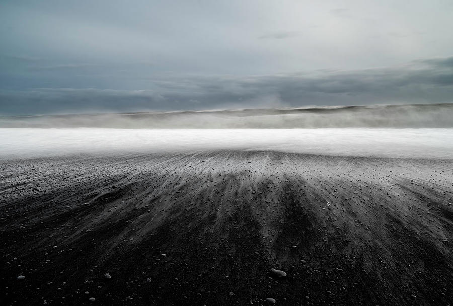 Landscape Photograph - Iceland Vik by Ronny Olsson
